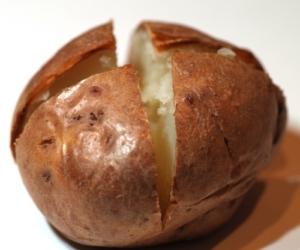 Geschnittene Kartoffel